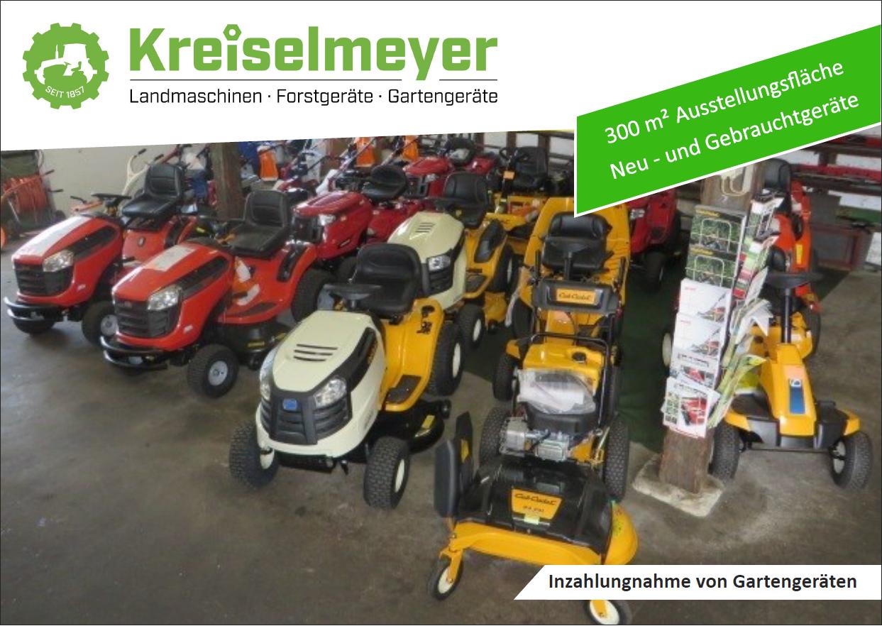 Kreiselmeyer-Landtechnik-Rasentraktor