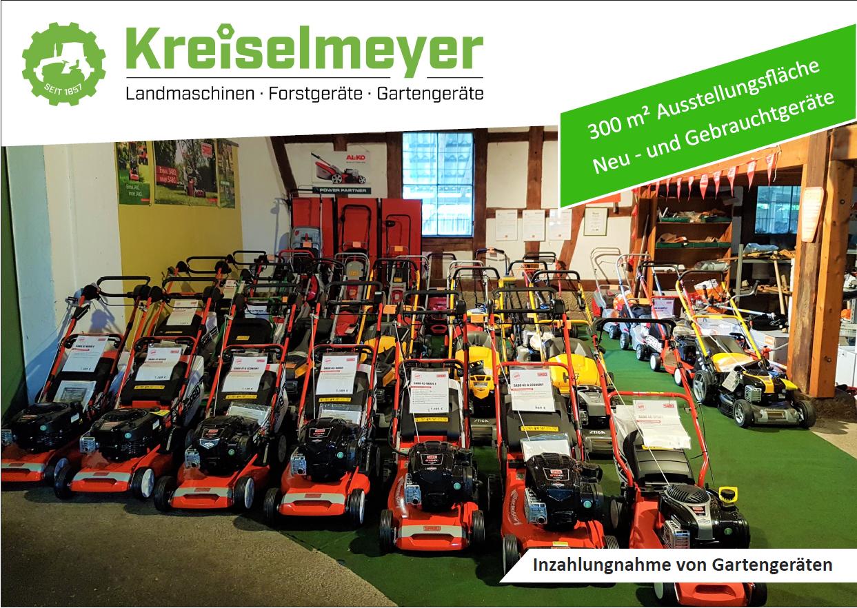 Kreiselmeyer-Landtechnik-Rasenmäher-Ausstellung